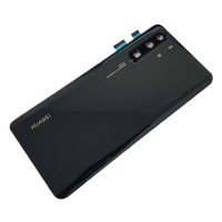Battery Back Cover Huawei P30 Pro Black with Lens