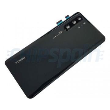 Tampa Traseira Bateria Huawei P30 Pro Preto com Lente