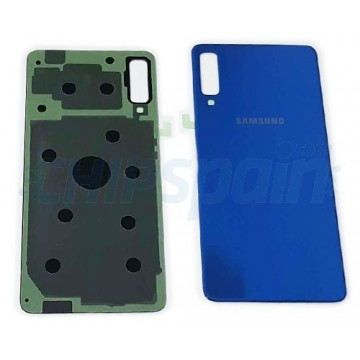 Tapa Trasera Bateria Samsung Galaxy A7 2018 A750F Azul