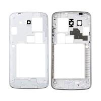 Intermediate Central Framework Samsung Galaxy Grand 2 G7106 Silver