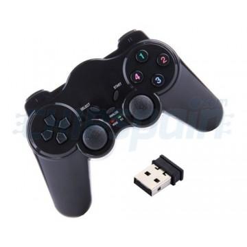 Controlador sem fio para Windows PC com Dual Shock Vibration