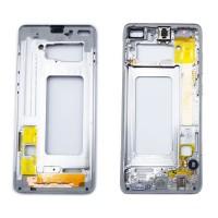 Quadro Central Intermediário Samsung Galaxy S10 Plus G975 Branco