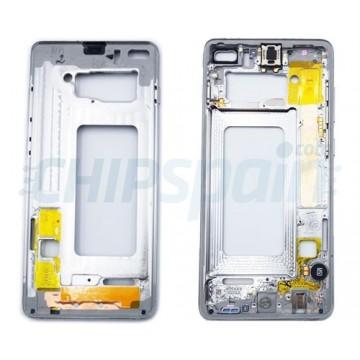 Marco Central Intermedio Samsung Galaxy S10 Plus G975 Blanco