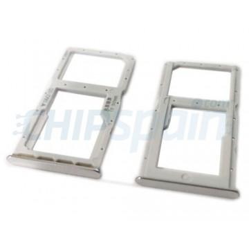 Tabuleiro para cartão Dual SIM e Micro SD Huawei P30 Lite Branco