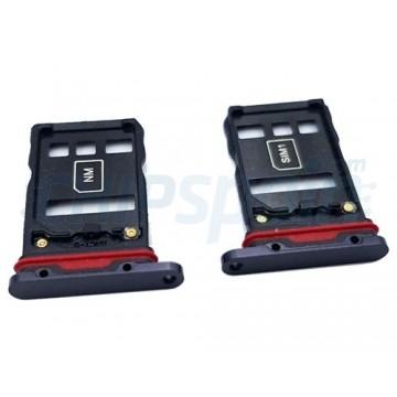 Dual Tabuleiro para cartão SIM Huawei P30 Pro Preto