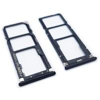 Tabuleiro Dual para cartão SIM e Micro SD Xiaomi Mi A2 Lite (Redmi 6 Pro) Preto