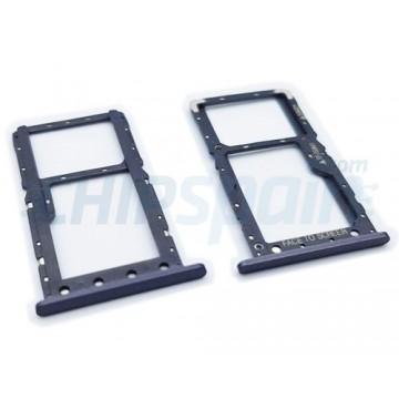 Tabuleiro para cartão SIM e Micro SD Xiaomi Pocophone F1 Preto