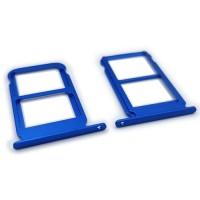 Dual Tabuleiro para cartão SIM Huawei Honor 10 Azul