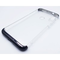 Funda Xiaomi Redmi Note 7 Transparente Negro