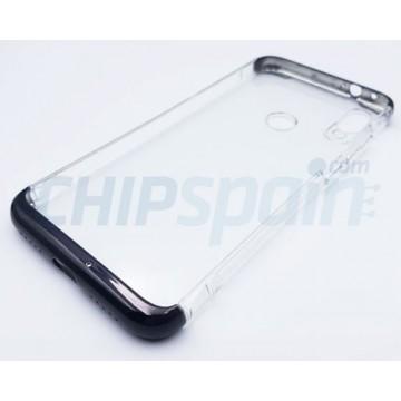 Funda Xiaomi Redmi Note 7 / Xiaomi Redmi Note 7 Pro Transparente Negro GKK