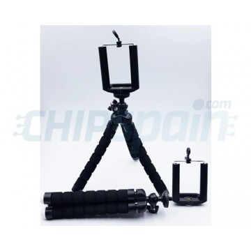 Tripod for Mobile with Flexible Legs Black