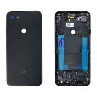 Tampa Traseira Bateria Google Pixel 3A XL Preto