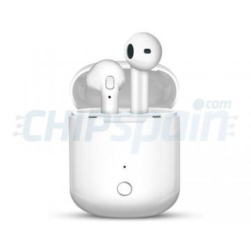 Auriculares móveis sem fios Bluetooth TWS-i8s Branco