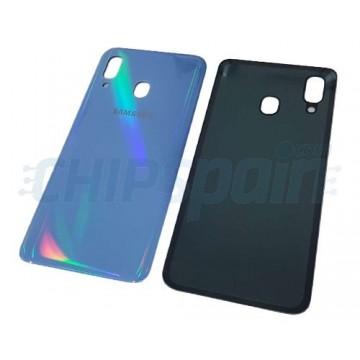 Tampa traseira Samsung Galaxy A40 A405 Azul