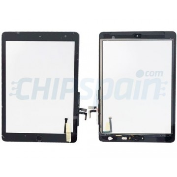 "Touch Screen iPad 5 2017 (9.7"") A1822 A1823 Black with Home Button"