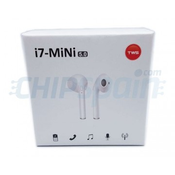 Wireless Bluetooth Mobile Headset TWS-i7 Mini White