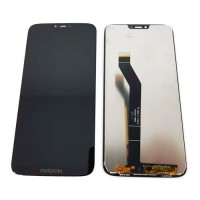 Ecrã Tátil Completo Motorola Moto G7 Power Preto