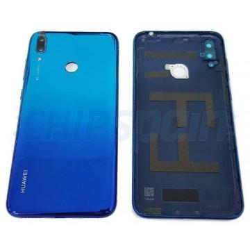 Tampa Traseira Bateria Huawei Y7 2019 / Huawei Y7 Prime 2019 Azul