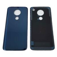 Carcasa Trasera Batería Motorola Moto G7 Power Azul