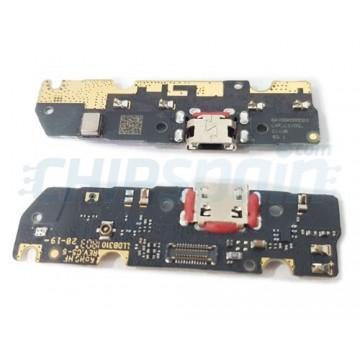 Placa Conector de Carga y Micrófono Motorola Moto E5 XT1944