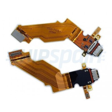 Carregar o Flex Conector USB Sony Xperia XZ3 H9436 H8416 H9493