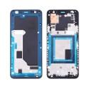 LCD Screen Moldura Frontal Google Pixel 3a Preto