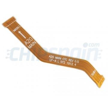 Flex Placa Base Samsung Galaxy A20 A205
