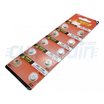 Bateria de Botão Alcalina AG0 379A 1.55V