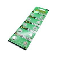 Pila de Botón Alcalina AG11 362A 1.55V