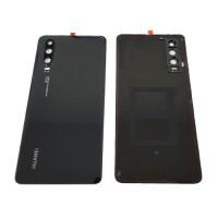 Tapa Trasera Batería Huawei P30 Negra con Lente