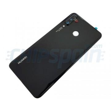Battery Back Cover Huawei P30 Lite / Nova 4E with Lens Black 48MP