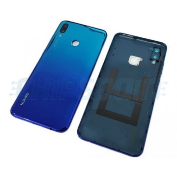 Tampa Traseira Bateria Huawei P Smart 2019 com Lente Azul Aurora