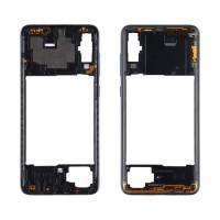 Intermediate Central Framework Samsung Galaxy A70 A705 Black