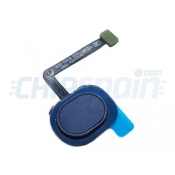 Botão Home com Flex Samsung Galaxy M20 M205 Azul
