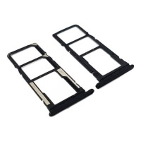 Tabuleiro Dual para cartão SIM e Micro SD Xiaomi Redmi 7A Preto