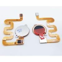 Botão Home Completo com Flex Xiaomi Mi A2 Lite / Redmi 6 Pro Preto