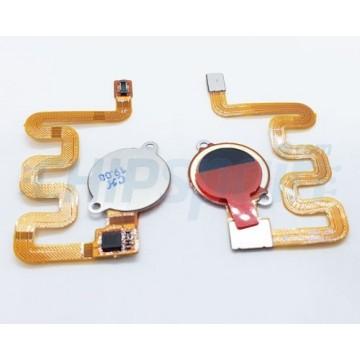 Botón Home Completo con Flex Xiaomi Mi A2 Lite / Redmi 6 Pro Negro