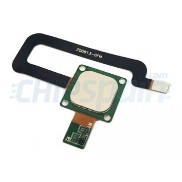 Botón Home con Flex Asus Zenfone 3 Max ZC520TL Oro