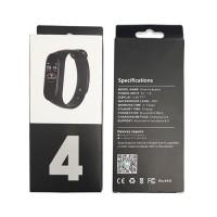 Pulsera Inteligente M4 con Pantalla Táctil Android iOS Negro