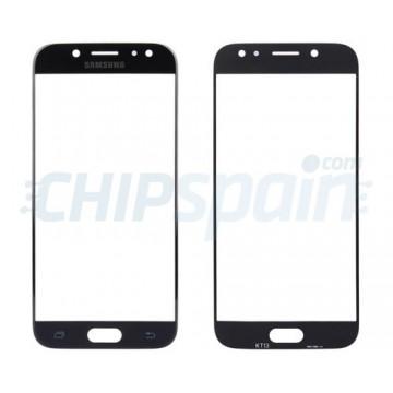 Vidro Exterior Tela Samsung Galaxy J7 2017 J730 Preto