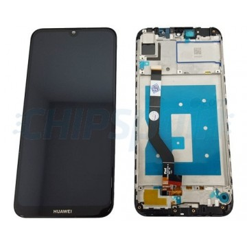 LCD Screen + Touch Screen Huawei Y7 2019 / Y7 Prime 2019 / Y7 Pro 2019 with Frame Black