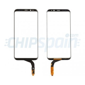 Vidro Digitalizador Táctil Samsung Galaxy S8 Plus G955F Preto