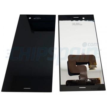 Ecrã Tátil Completo Sony Xperia XZ1 G8341 G8342 Preto