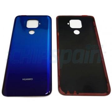 Tampa Traseira Bateria Huawei Mate 30 Lite Azul Twilight