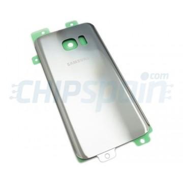Tampa Traseira Bateria Samsung Galaxy S7 G930F Prata
