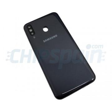 Tampa Traseira Bateria Samsung Galaxy M30 M305 Cinza