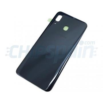Tapa Trasera Batería Samsung Galaxy A30 A305 Negro
