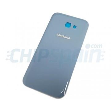 Tampa Traseira Bateria Samsung Galaxy A7 2017 A720 Azul