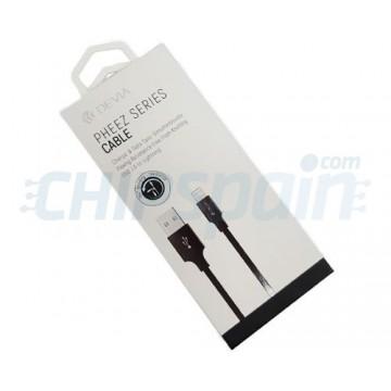 Cabo USB a Lightning 1m Devia Premium Preto