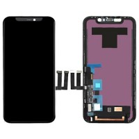 LCD Screen and Digitizer iPhone 11 Black with Frame